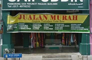 Butik Pakaian Kedai Muslim